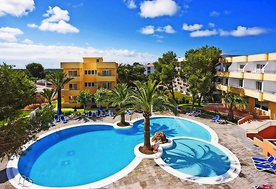 Willkommen in Ihrem Hotel Spa Sagitario Playa in Cala Blanca!