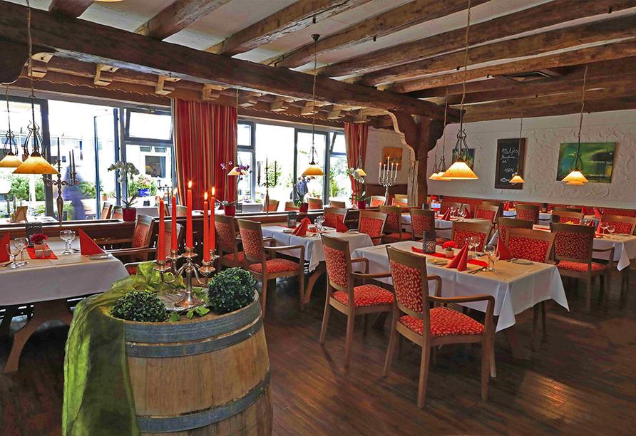 Restaurant vom Best Western Hotel Heidehof.