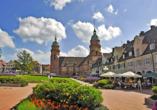 Ein Besuch des hübschen Städtchens Freudenstadt lohnt sich.