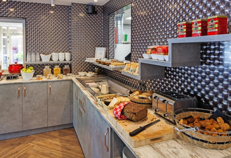 Best Western Hotel Den Haag, Frühstücksbuffet