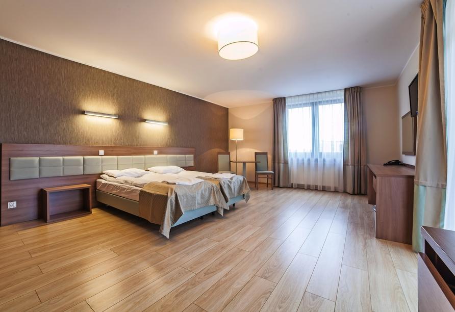 Hotel Olymp III, Zimmerbeispiel