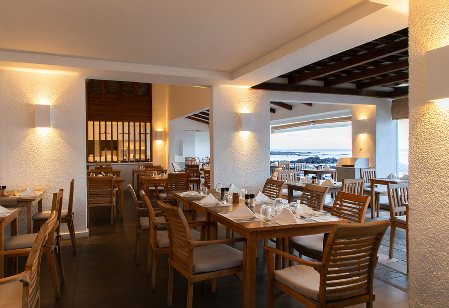 Im Restaurant Pointe aux Piments erwarten Sie frische, regionale Gaumenfreuden.