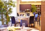 Restaurant im Beispielhotel AS Hotel Limbiate Fiera