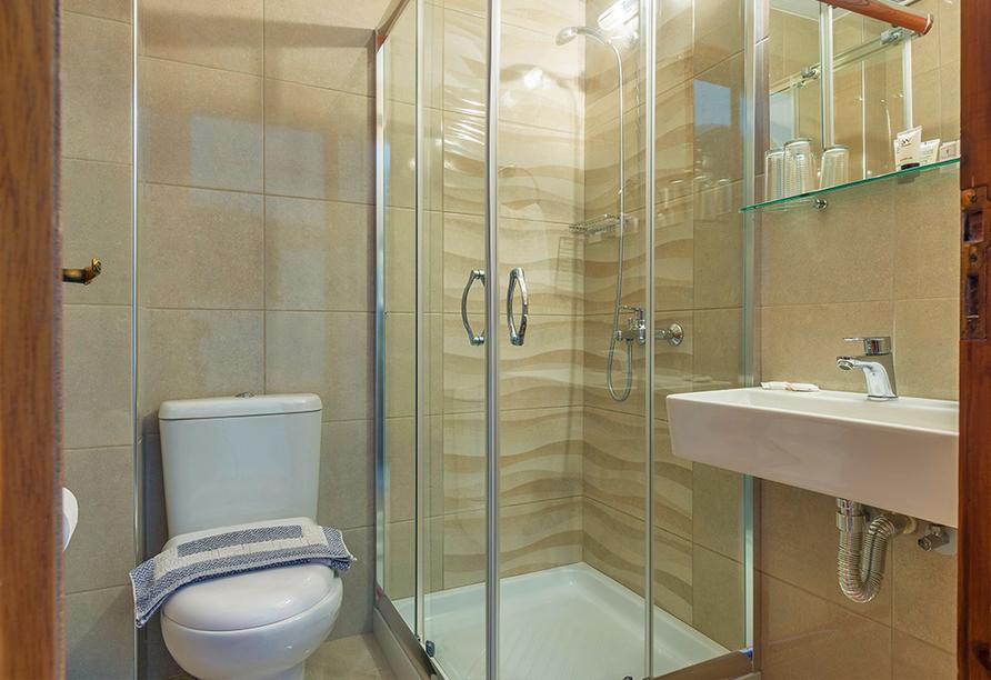 Beispiel für ein Badezimmer
