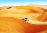 Erleben Sie pure Action in der Wüste Dubais!