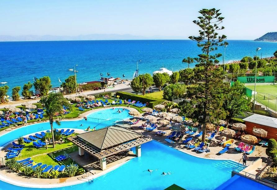 Herzlich willkommen in Ihrem Traumurlaub auf der griechischen Insel Rhodos!