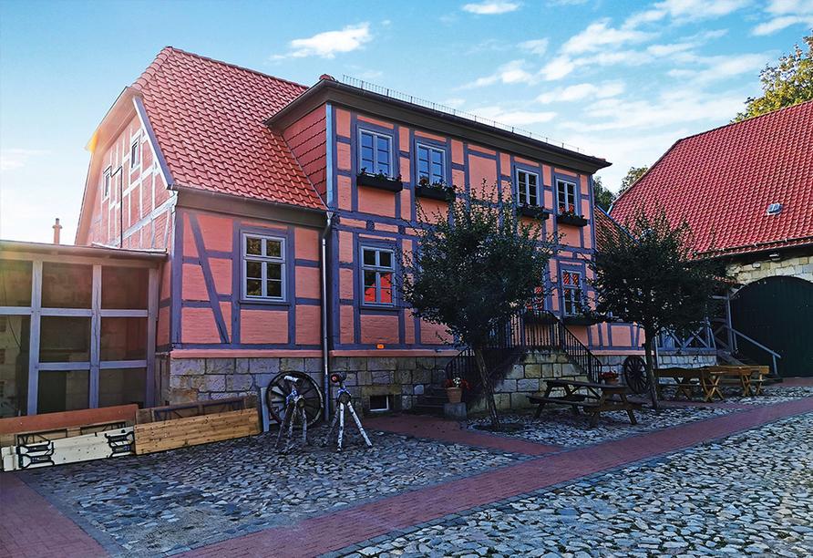 Hofladen vom Landhotel Schäferhof.