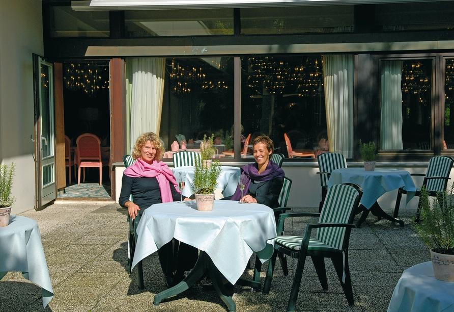 Maritim Hotel Bad Salzuflen, Außenterrasse
