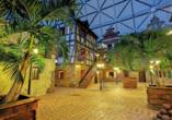 Tropical Islands Resort, Beispiel Haus mit Zimmern