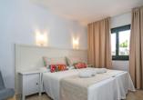 Beispiel eines Appartements im Beach Club Aparthotel