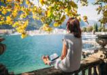 Parc Hotel Deva in Riva del Garda, Italien, Aussicht