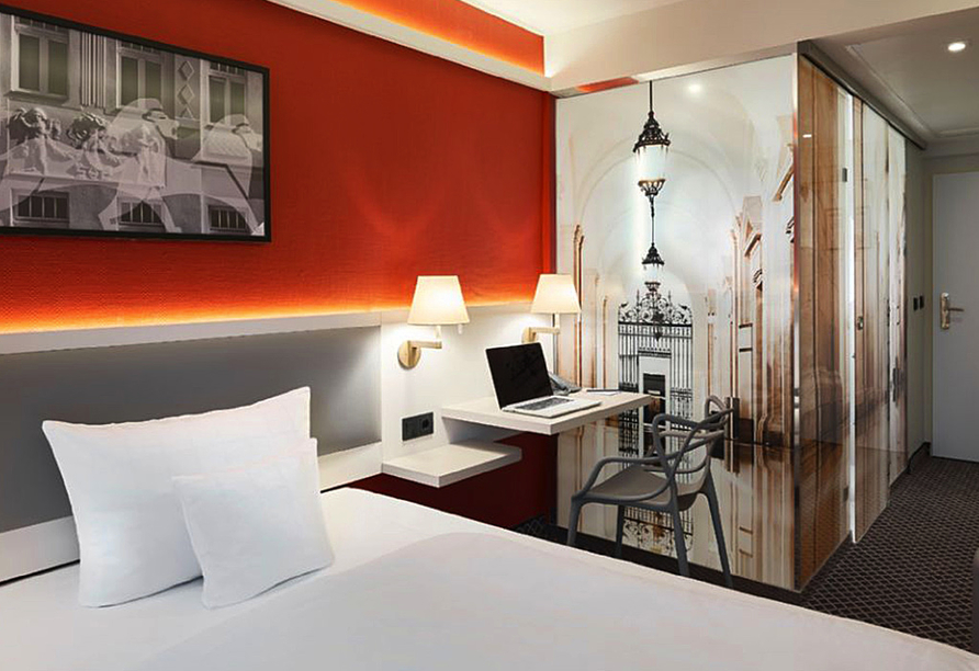 Beispiel für ein Doppelzimmer