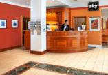 Die Lobby vom Best Western Hotel Leipzig City Center.