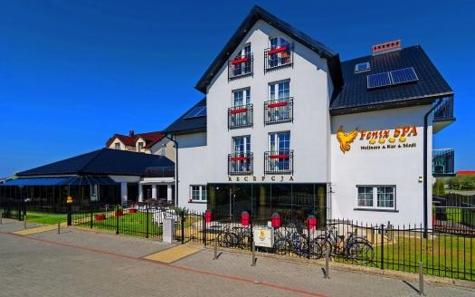 Hotel Fenix SPA Henkenhagen Polnische Ostsee, Außenansicht