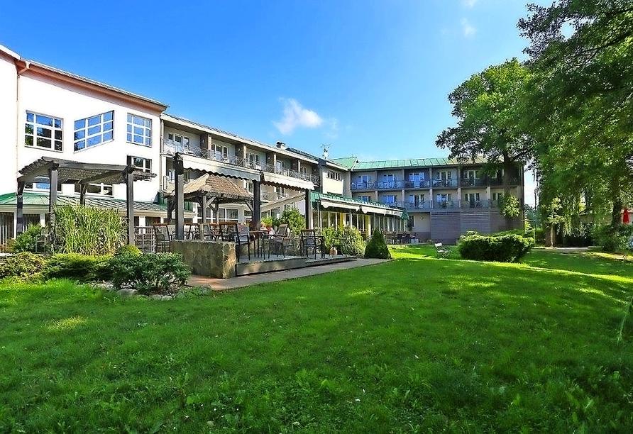 Hotel Riviera Nova Role bei Karlsbad, Terrasse
