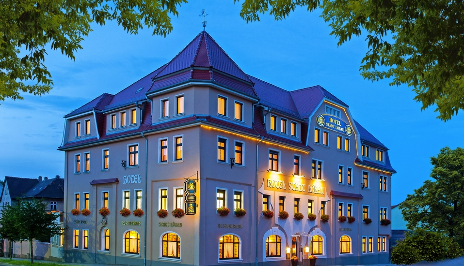 Hotel Stadt Löbau Oberlausitz, Außenansicht