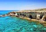 Das Kap Greko mit seinen Höhlen sollte auf jeden Fall auf Ihrer Erkundungsliste stehen.