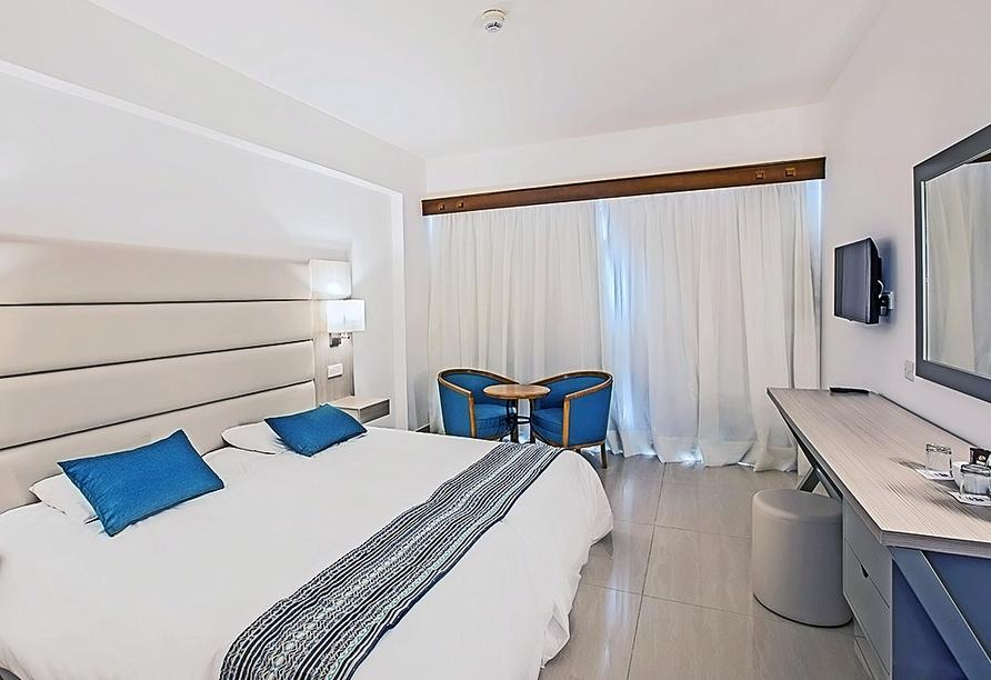Beispiel eines Doppelzimmers im Anmaria Beach Hotel