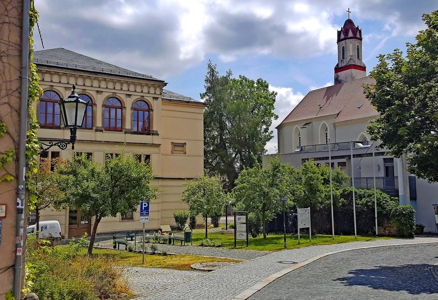 Hotel Stadt Löbau Oberlausitz, Johannisplatz