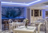 Lassen Sie sich im Restaurant des Hotels mit regionalen und internationalen Speisen verwöhnen.
