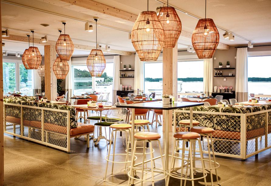 Restaurant Ohjulia im Maremüritz Yachthafen Resort & Spa.