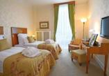 Beispiel eines Doppelzimmers Superior im Wellnesshotel Palmenwald Schwarzwaldhof