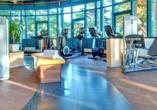 Werden Sie aktiv im modernen Fitnessbereich.