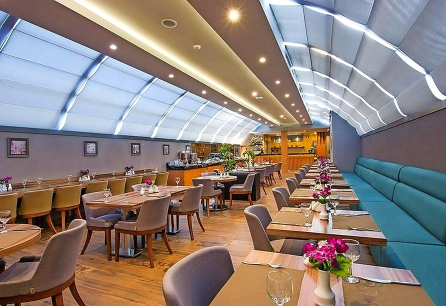 Restaurant im Beispielhotel City Center in Tbilisi