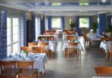 Frühstücksraum im Hotel Messehof