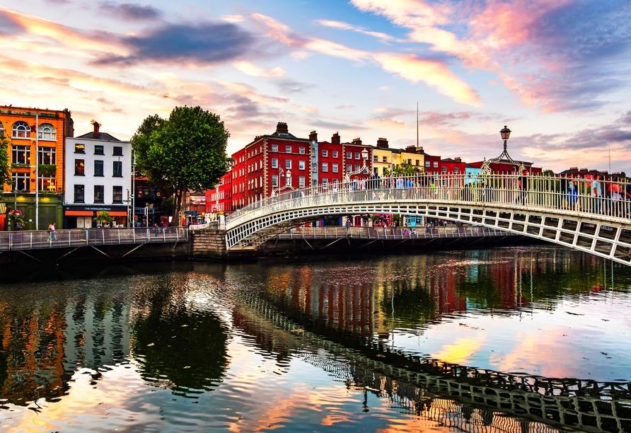 Die Hauptstadt Irlands, Dublin, hat einiges zu bieten.