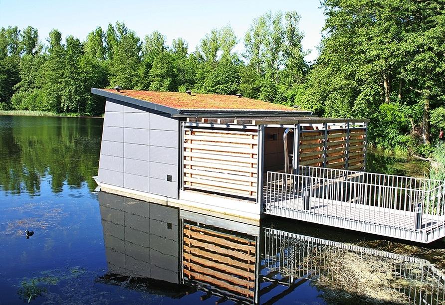 Ferienwohnpark Silbersee, Sauna
