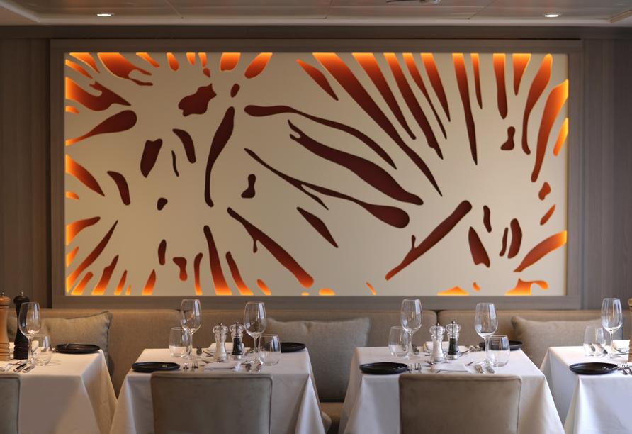A-ROSA ALVA, Restaurant