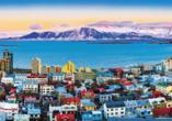 Ein geführter Stadtrundgang in Reykjavík ist für Sie bereits inkludiert.