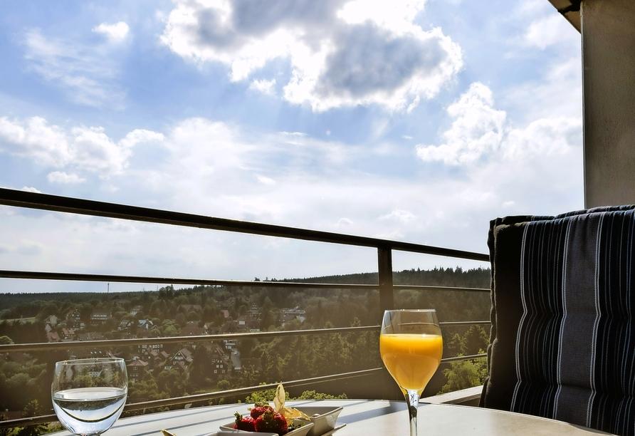 AHORN Harz Hotel Braunlage, Beispiel Balkon