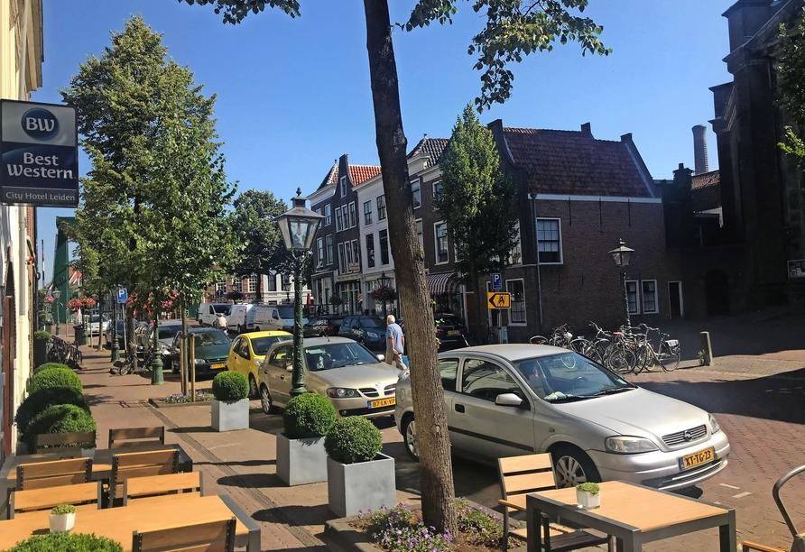 Best Western City Hotel Leiden, Außenansicht