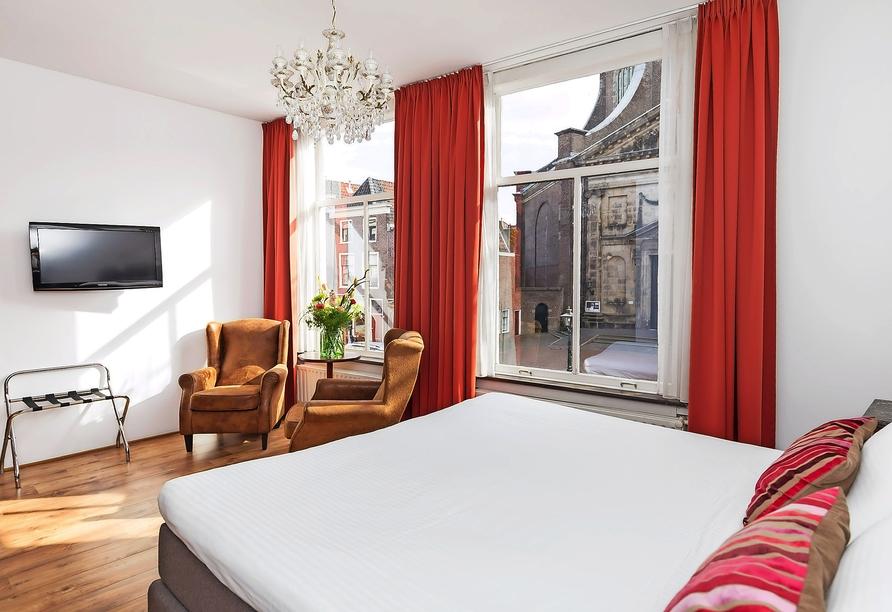 Best Western City Hotel Leiden, Zimmerbeispiel
