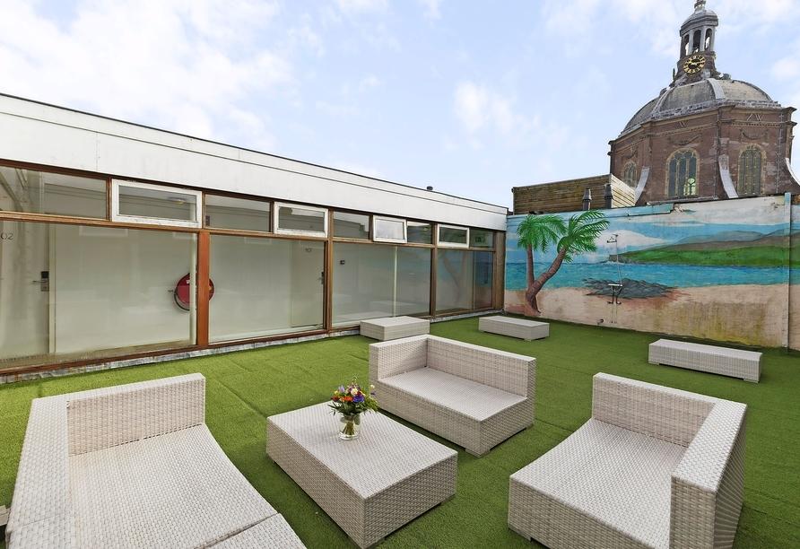Best Western City Hotel Leiden, Dachterrasse