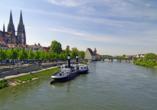 Die UNESCO Weltkulturstadt Regensburg ist für viele eine der schönsten Städte Deutschlands.