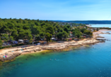 Aminess Sirena Campsite Holiday Homes, Novigrad, Istrien, Kroatien, Strandlage