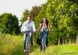 Schlossgut Groß Schwansee, Fahrradfahren