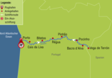 A-ROSA ALVA, Route