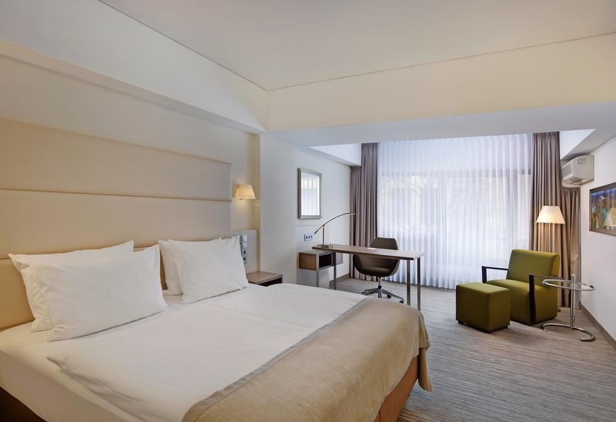 Hotel Crowne Plaza Hannover Schweizerhof, Beispiel eines Doppelzimmers