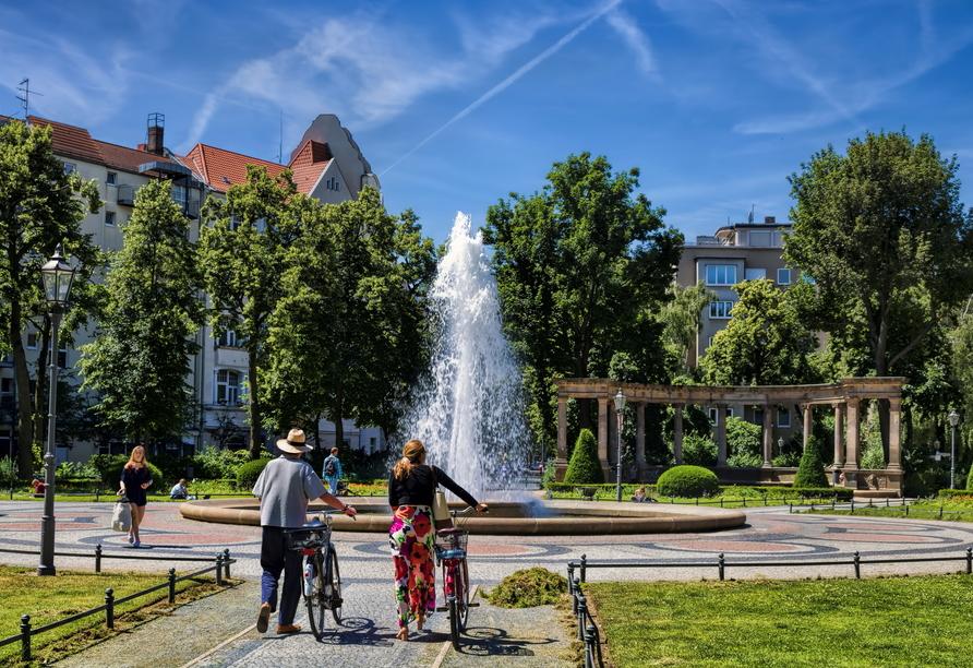 Der Viktoria-Luise-Platz in Berlin.