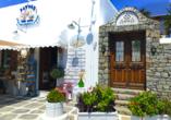 Souvenirladen in Mykonos-Stadt