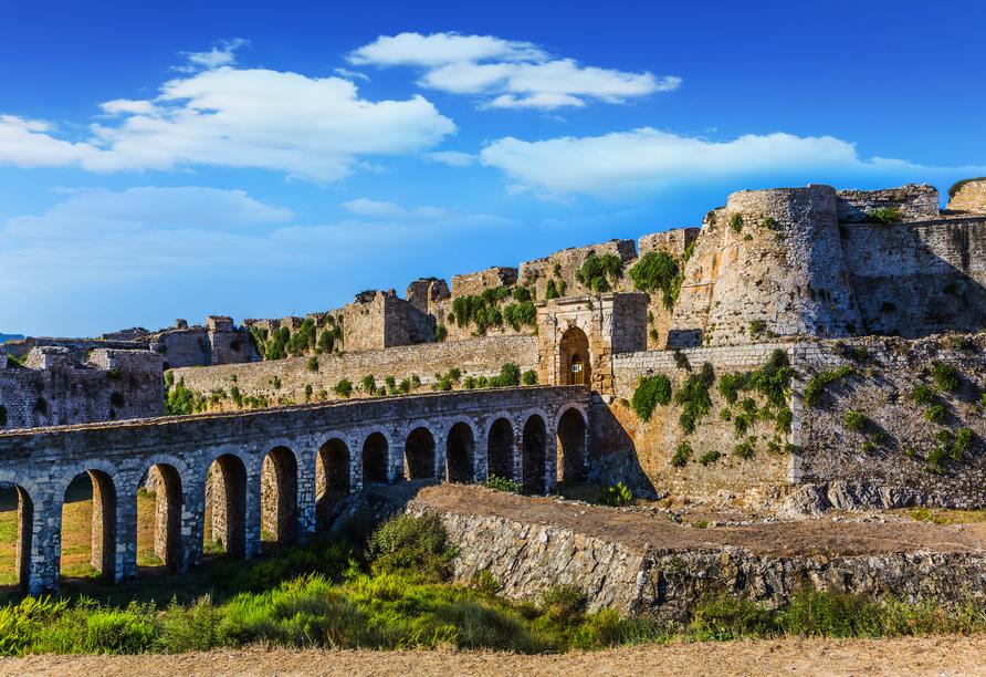 Die Venezianische Festung von Methoni