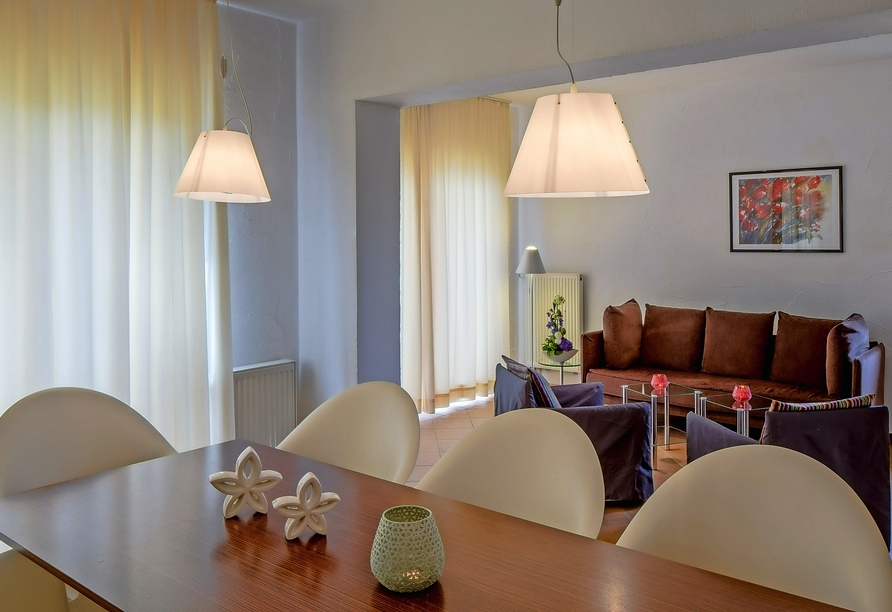 Eurostrand Resort Moseltal in Leiwen an der Mosel, Beispiel Wohnzimmer