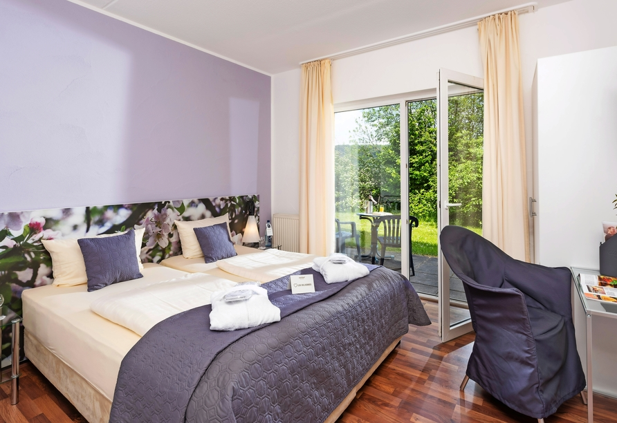 Eurostrand Resort Lüneburger Heide, Beispiel Schlafzimmer