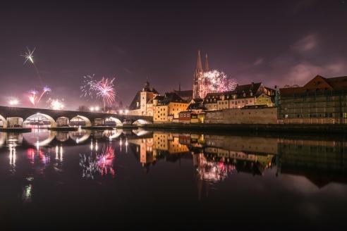 Wellness Extol Inn Hotel in Prag in Tschechien, Feuerwerk
