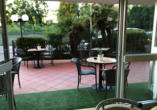 Hotel Naica in Rimini, Terrasse