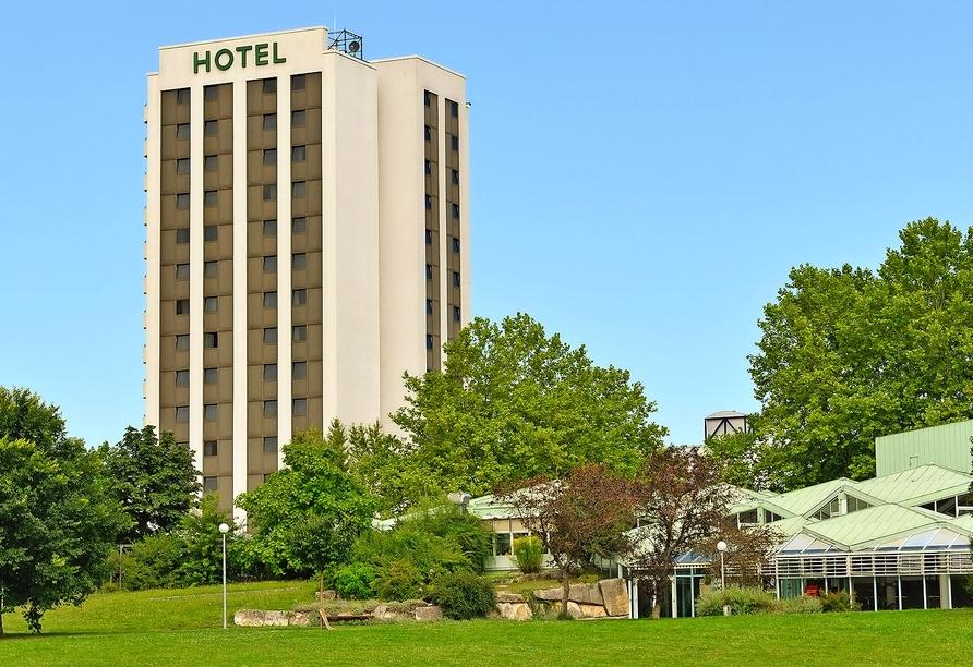 Ihr Amber Hotel Leonberg begrüßt Sie direkt am Stadtpark.